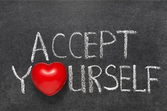 The third is: SELF-ACCEPTS!